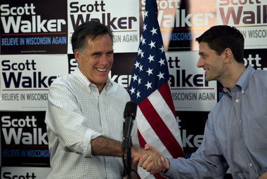 Romney running mate Paul Ryan