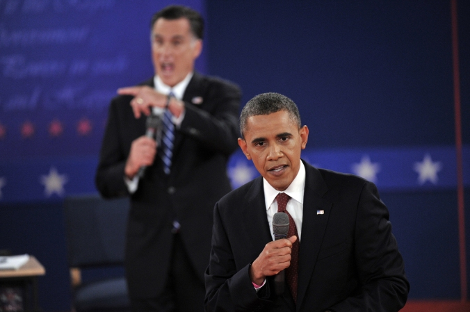 Obama Romney debate who won