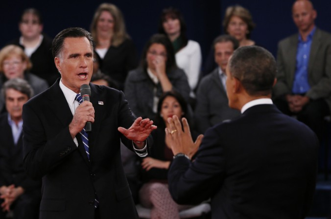 mitt romney in debate