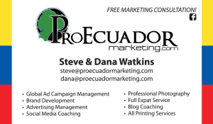 ad and communications agencies in puerto cayo ecuador