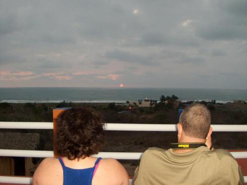 Steve and Dana Watkins in Ecuador