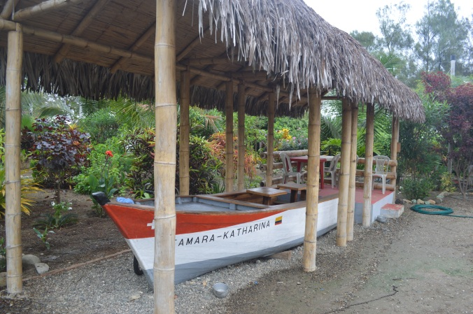Two years ago, Sam purchased this old fishing boat and converted it into a lounge/bar on his property. The first day we met, he offered me a cold beer at this unique and special venue.