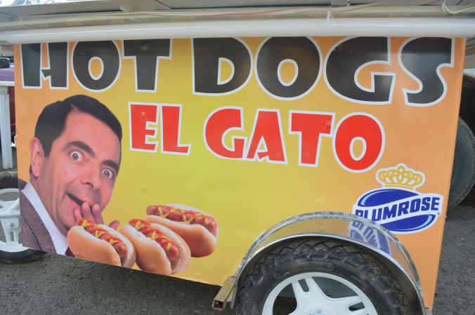 Mr. Bean is pretty big in Ecuador.