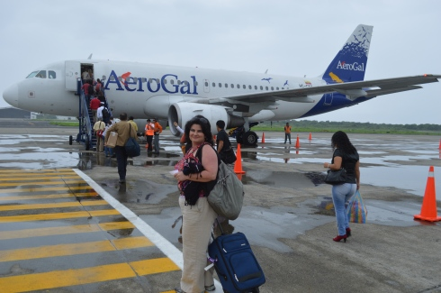 A 30-minute flight from Manta to Quito, then a 90-minute drive north to Otavalo. Sounds easy enough. Not necessarily.