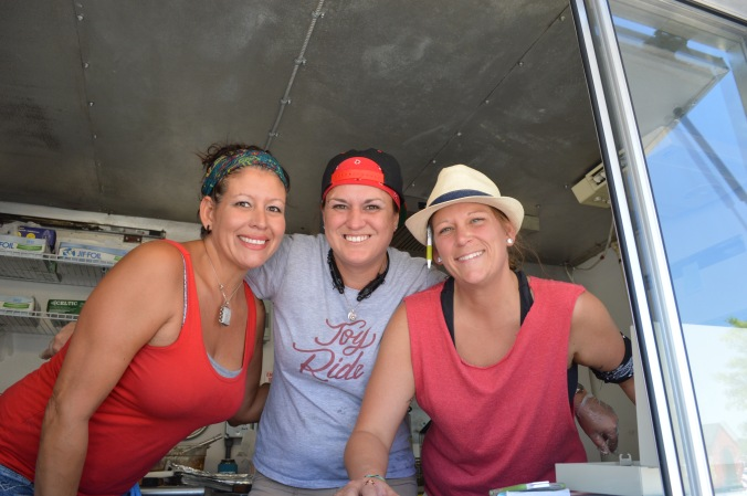These ladies from Joy Ride Latin eats serve up an award-winning Cubano. The cheese was perfectly melted.