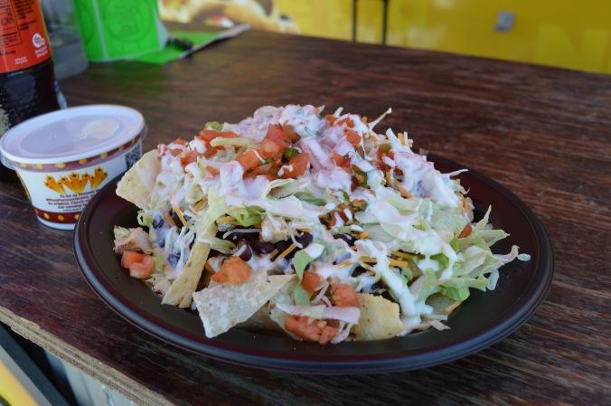 Food truck salad.