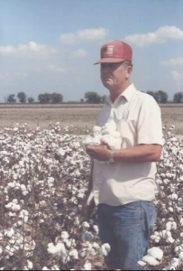 Daddy, in that same cotton crop. I shot photos of him all day on that Sunday afternoon.