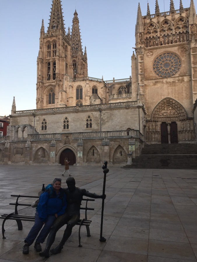 Ahhh ... Burgos. The 200-mile mark for those walking the full Camino Frances.